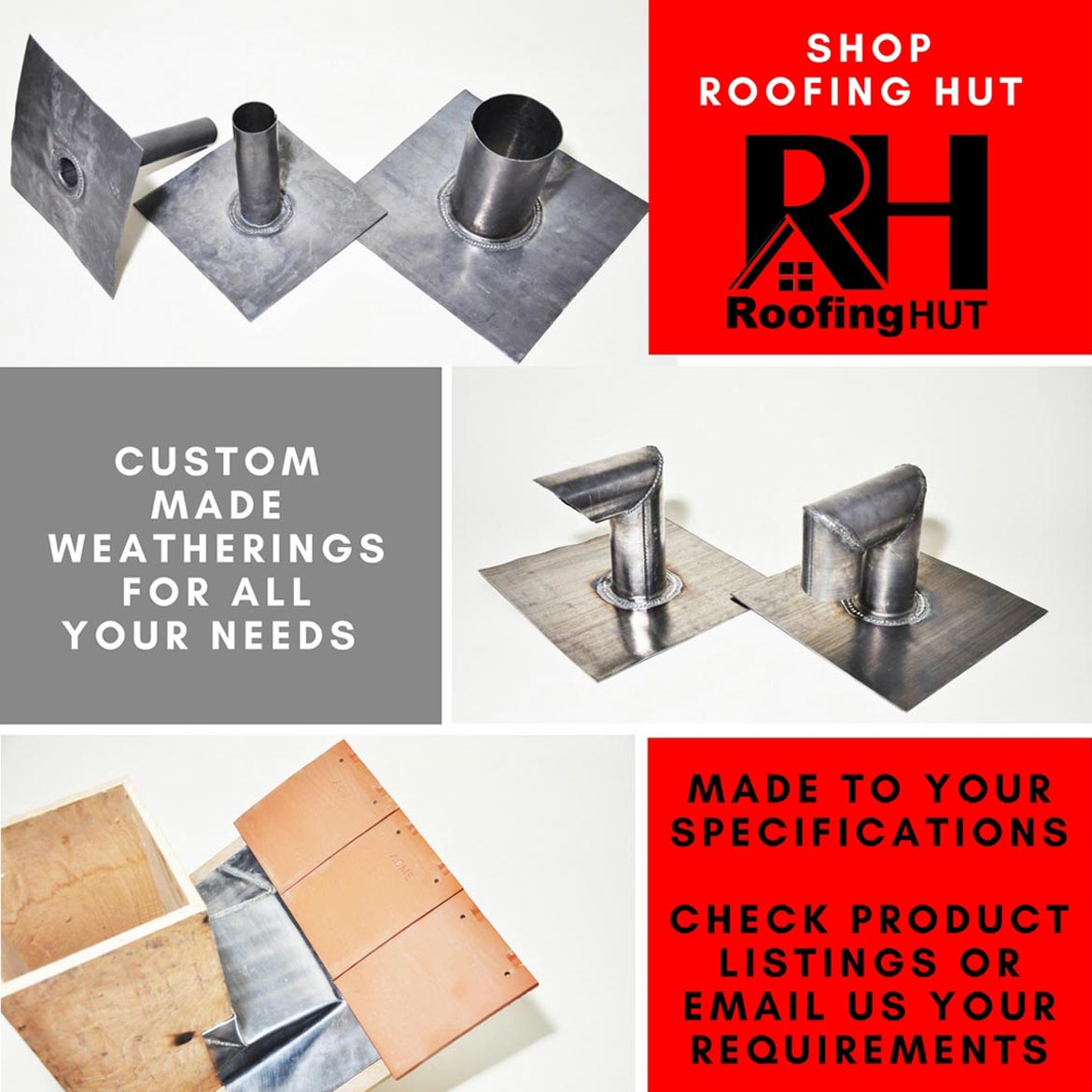 Custom made weatherings and roofing materials