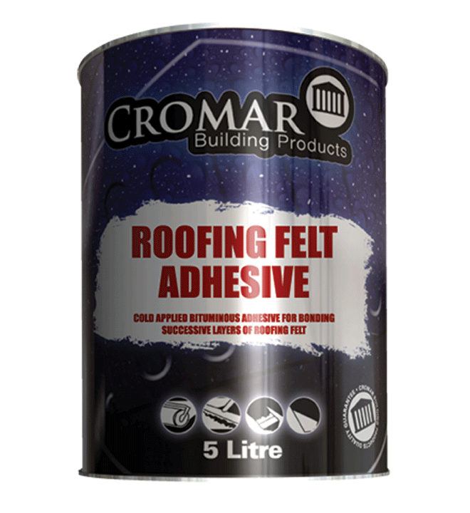 Roofing felt adhesive  5 ltr