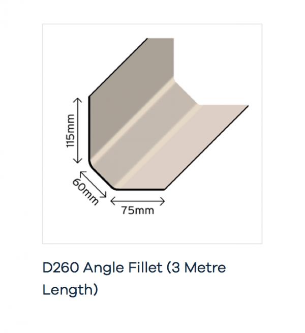 Wall Fillet Trim D260