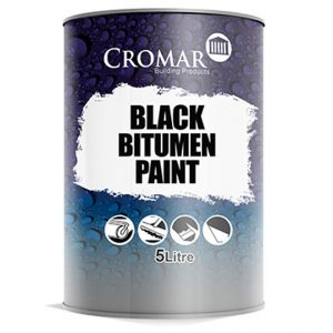 Black Bitumen paint 25 ltr