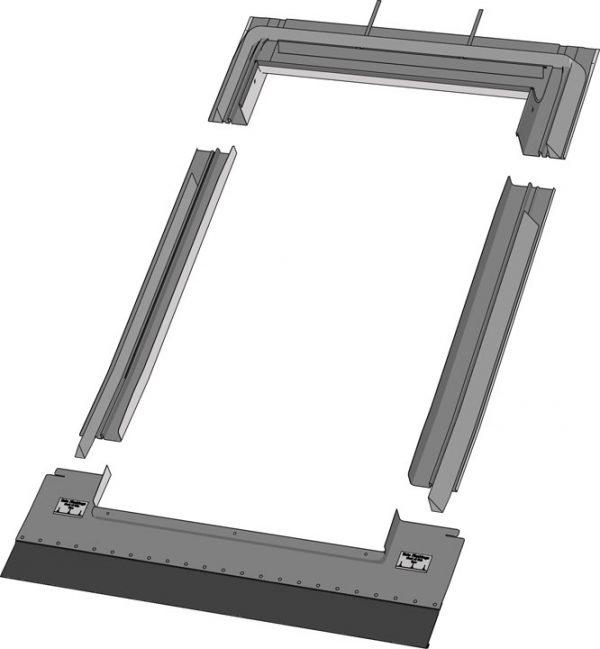 Keylight 1340 x 1400 TRF Shallow interlocking tile Flashing Kit